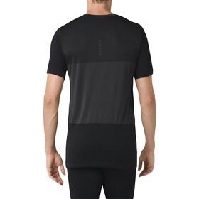 asics fuzeX Seamless SS Shirt Men dark grey